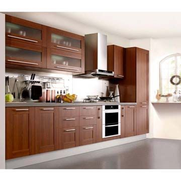 Birch Wood Kitchen Cabinets With An Acrylic Insert Material Solid Maple Beech Alder Etc Plywood Melamine Board Mdf Pvc